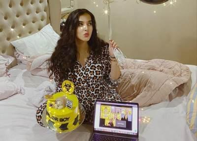 Baby Shower Virtual ala Tasya Farasya, Virus Corona Dilarang Masuk!