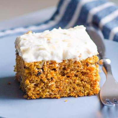 1. Healthy Carrot Cake