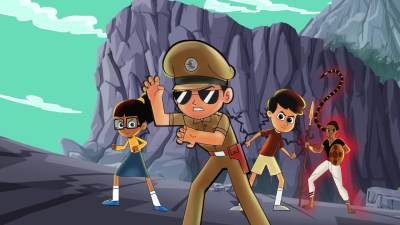 2. Little Singham: Mahabali