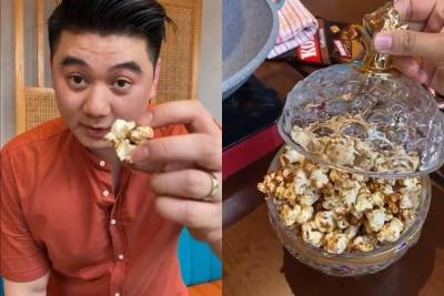 Viral K-POP, Popcorn Bertabur Emas ala Chef Arnold, Intip Resepnya Yuk!