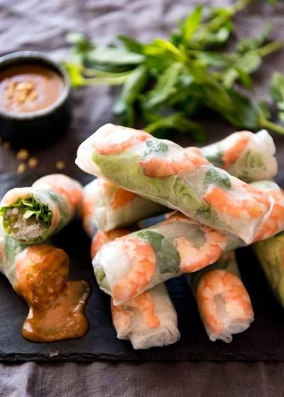 Kreasi Resep Spring Roll Vietnam yang Segar dan Menyehatkan