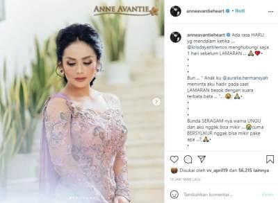 Cerita Haru Di Balik Kebaya Krisdayanti di Lamaran Aurel & Atta Halilintar