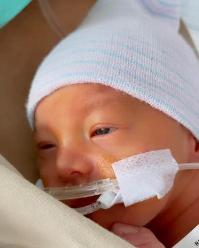 Wajah Ganteng Baby Anzel