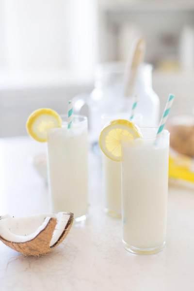 Coconut Mint Lemonade