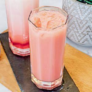Resep Pink Lava Tanpa Santan