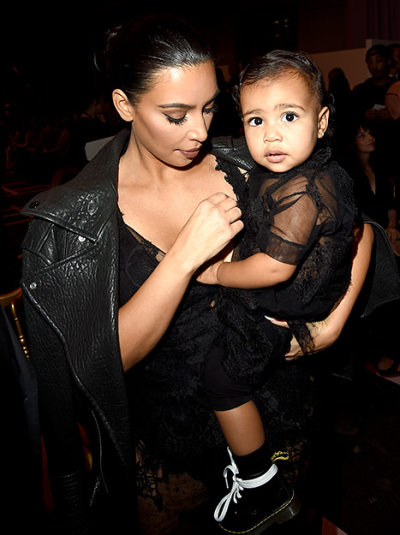 Kim Kardashian & North