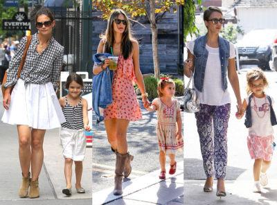 Intip Para Ibu & Anak Selebriti ini Tampil Fashionable